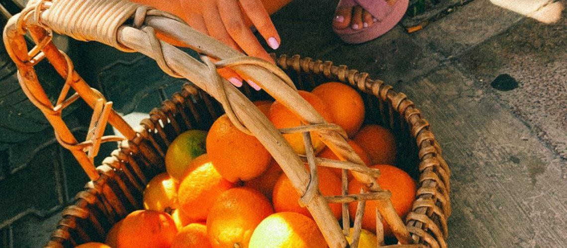 Sinaasappels van Valencia