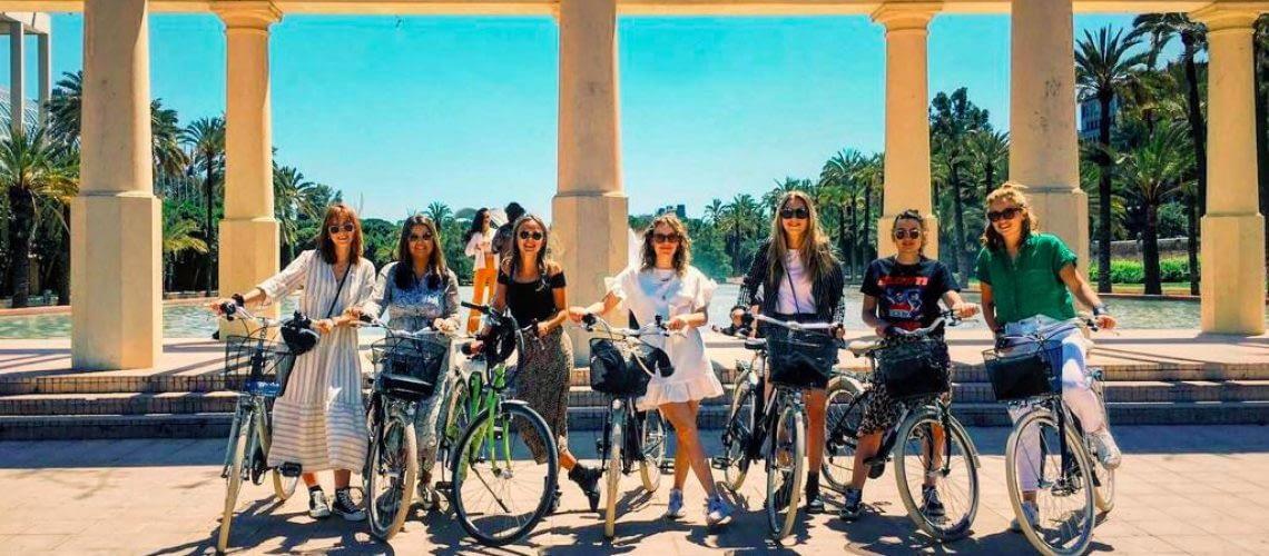 Op de fiets in Valencia