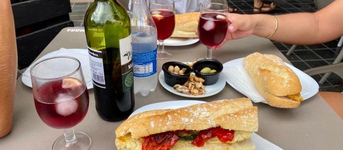 Breakfast in El Cabanyal, Valencia